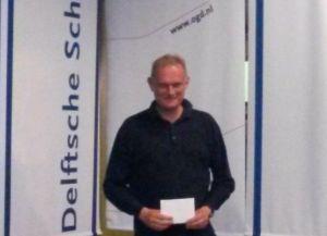 Winnaar van de B-groep: Tony Goudriaan