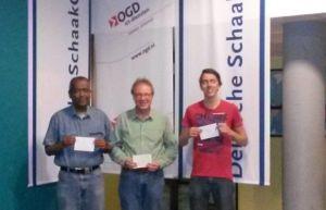 Gedeelde derde plaats: Melvin Holwijn, Joey Brokaar en Nick Groeneweg