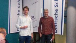 Winnaars ratingprijs t/m 2100: Mike Hoogland en Jan Peter van Zandwijk