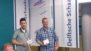 Gedeeld vierde plaats: Joost Michielsen en Robert Ris